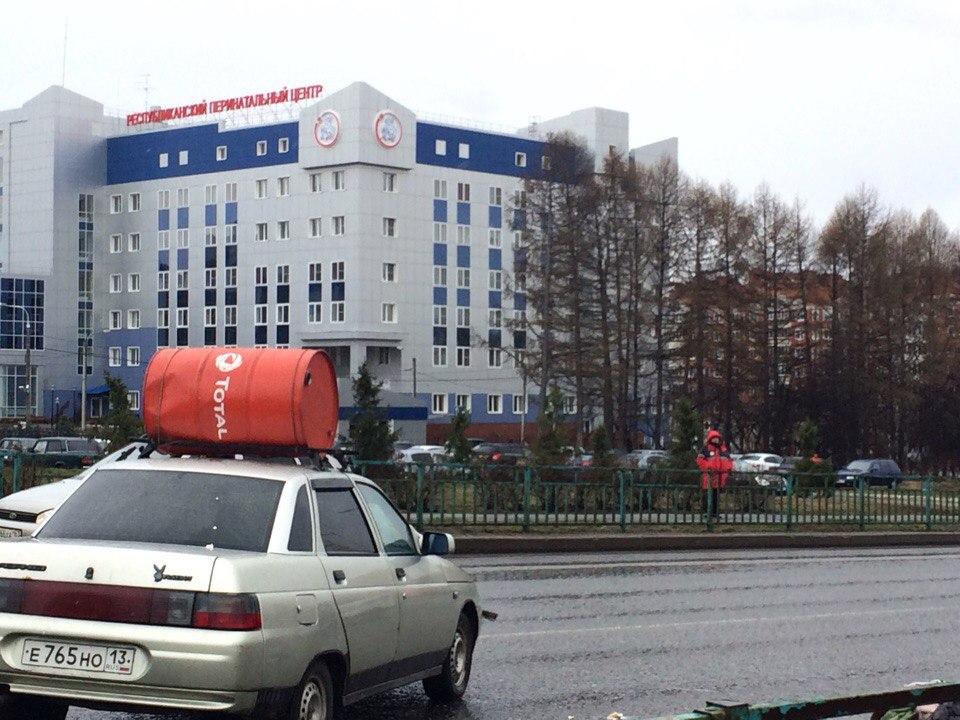 ВСаранске ВАЗ-2104 сбил 2-х  пешеходов, шофёр  удалился  сместа ДТП
