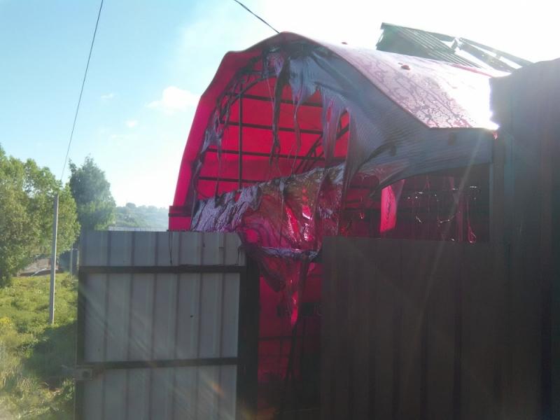ВСаранске вспыхнул дом