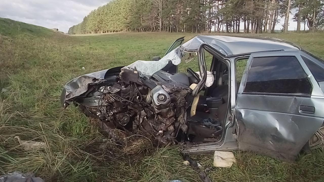 ВМордовии в итоге ДТП загорелась пассажирская «Газель»
