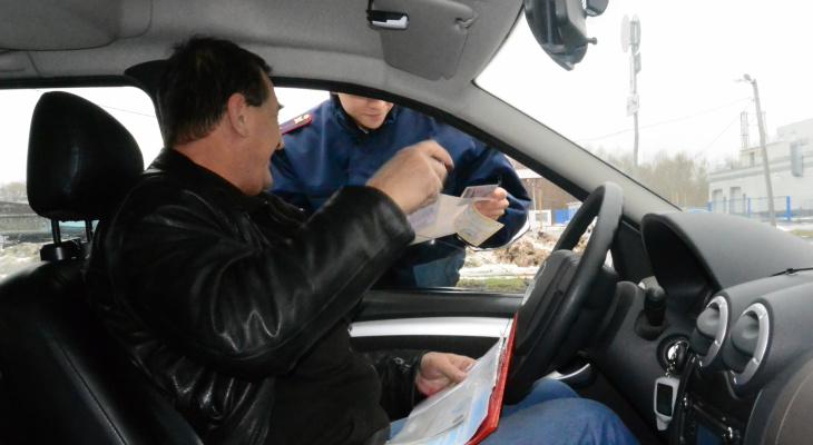 В Саранске сотрудники Росгвардии совместно с сотрудниками ГИБДД задержали пьяного водителя