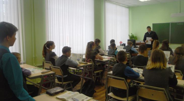 Саранским школьникам преподали урок правовых знаний