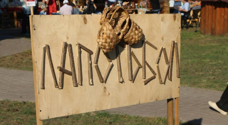 Жители Мордовии сыграли в лапотьбол