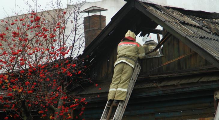 В Темниковском районе Мордовии при пожаре погиб мужчина