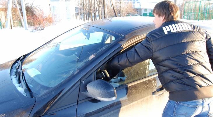 Два подростка в Саранске обокрали машины, припаркованные во дворах улиц Гагарина и Лесная