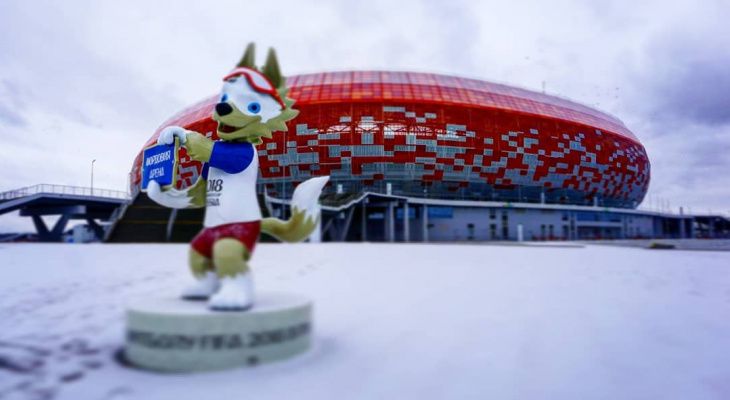 «Мордовия Арена» вошла в ТОП-10 лучших новых стадионов мира