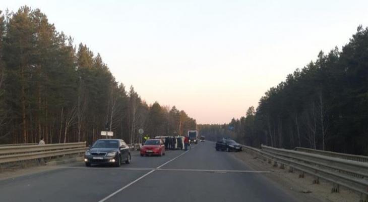 Массовое ДТП в Мордовии: столкнулись четыре иномарки