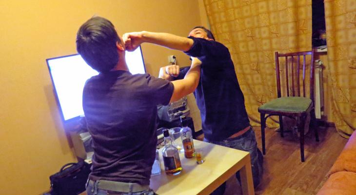 В Стаханове задержан мужчина за причинение тяжких телесных повреждений