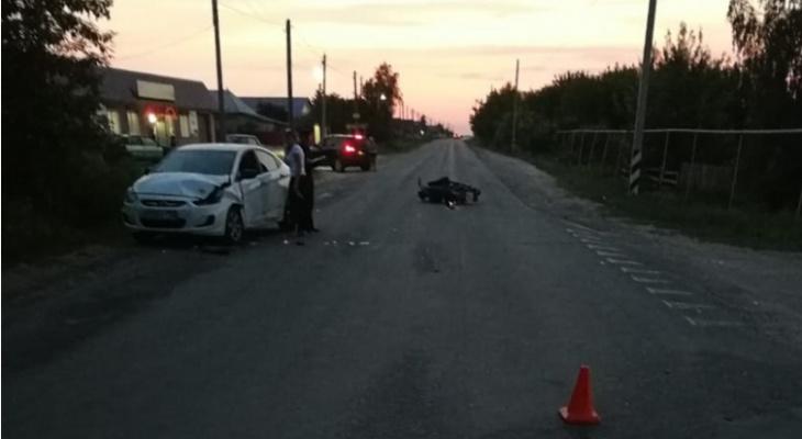 Смертельное ДТП в Мордовии: погиб пассажир мотоцикла