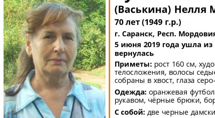 В Саранске ишут психически нездоровую пенсионерку, которая не вернулась домой