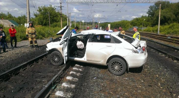 ДТП на железнодорожном переезде в Мордовии: пострадали два человека