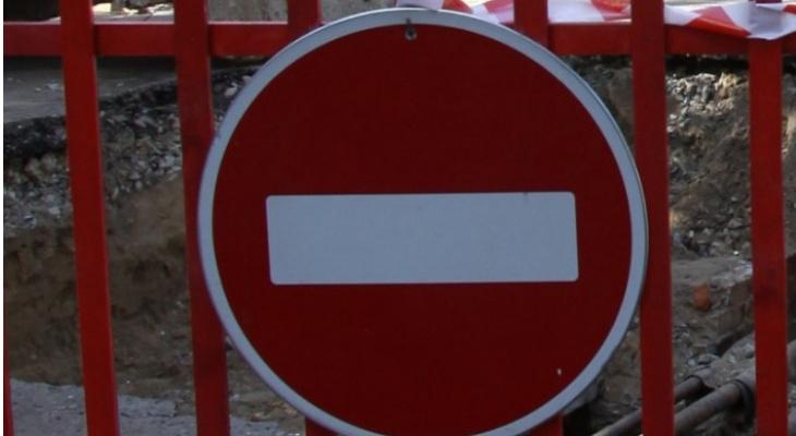 Ограничение движения транспорта по улице Победы продлено