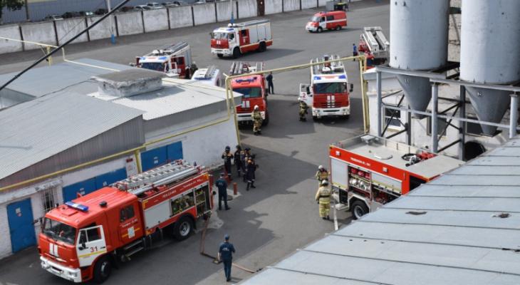 Учения МЧС: В Саранске произошел «взрыв» на элеваторе