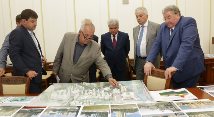 В Саранске обсудили план застройки нового микрорайона