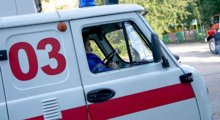 В Мордовии водитель иномарки съехал в кювет и сбил пешехода