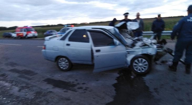 Тройное ДТП в Мордовии: пострадали два человека