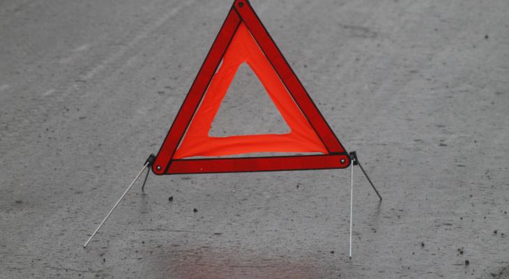В Саранске мужчина на мотоцикле устроил аварию