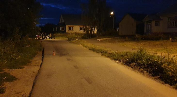 В Саранске водитель сбил мужчину и скрылся с места ДТП