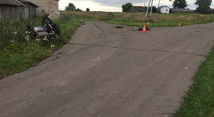 В Мордовии мотоциклист попал в ДТП: мужчина скончался, не приходя в сознание