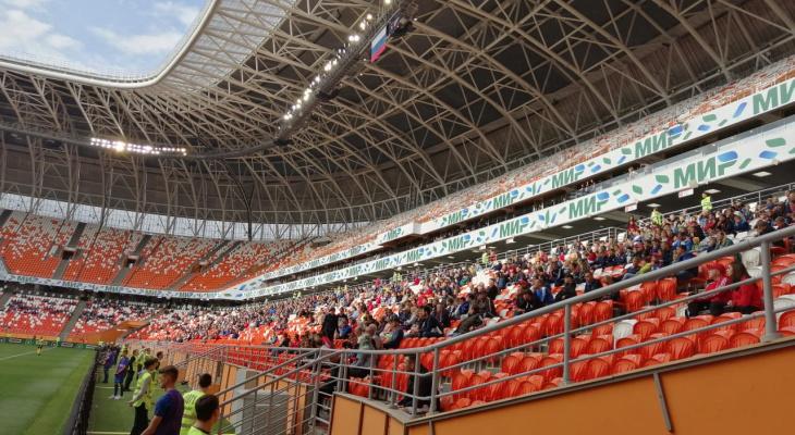 ФК «Тамбов» будет играть на «Мордовия Арене» еще минимум три месяца