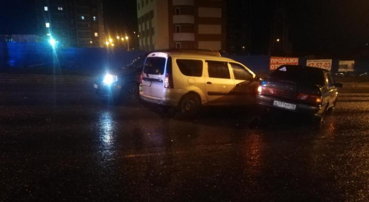 Тройное ДТП в Саранске: один человек пострадал
