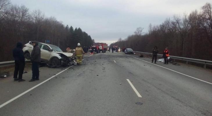 Страшная авария на трассе «Саранск – Ульяновск»: один человек погиб, трое госпитализированы