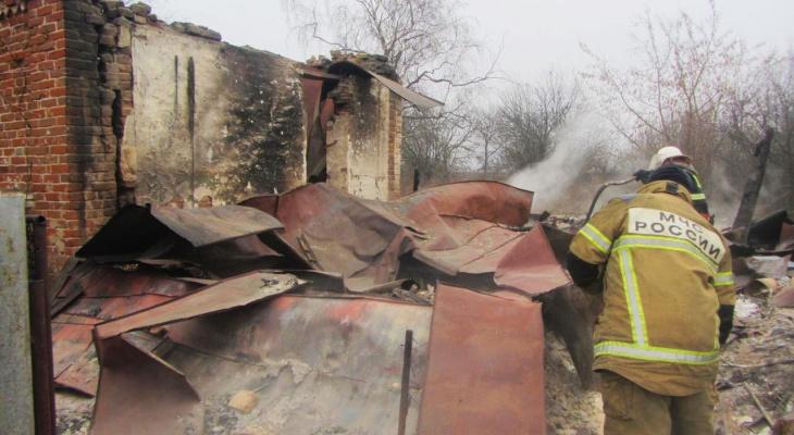 В Мордовии при пожаре в жилом доме погиб мужчина
