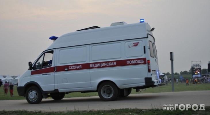 В Саранске безработный с ножом напал на мужчину возле продуктового магазина