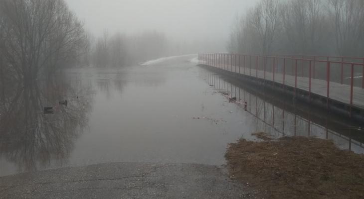 МЧС Мордовии сообщает о подтоплении еще двух мостов