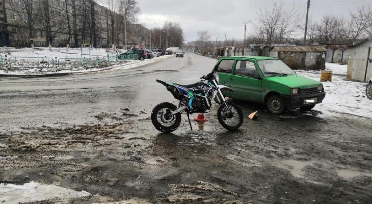В ГИБДД Мордовии рассказали подробности ДТП, в котором пострадал 16-летний мотоциклист