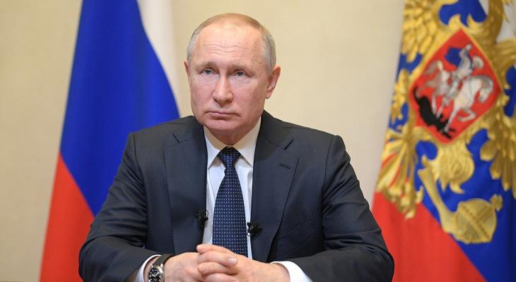 Путин объявил о нерабочей неделе в России из-за коронавируса