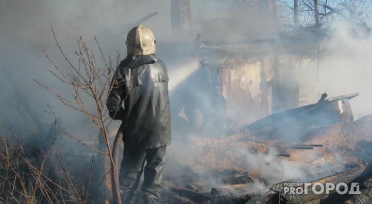 В Мордовии в пожаре пострадал человек