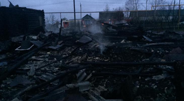 При пожаре в Мордовии погиб одинокий пенсионер