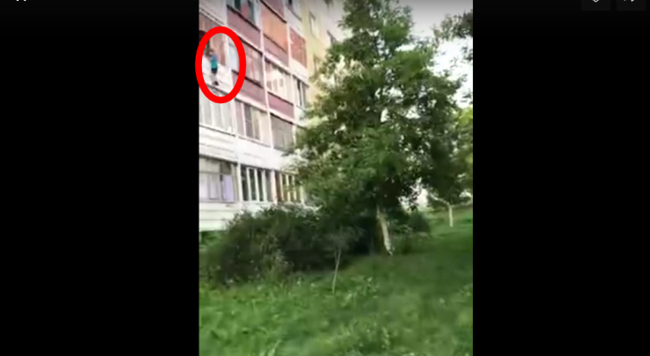 Висел снаружи балкона: в Саранске детская игра едва не закончилась трагедией