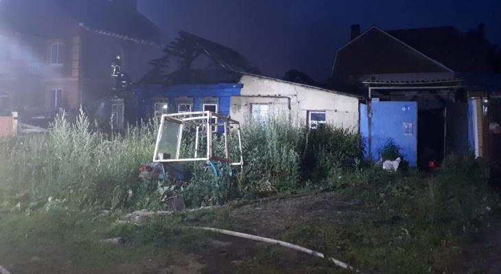 Ночной пожар в Саранске унес жизнь женщины (фото)