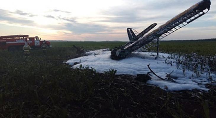В соседнем с Мордовией регионе разбился самолет