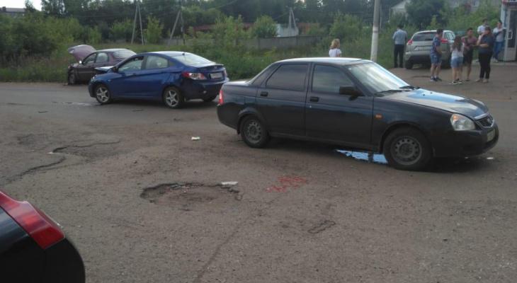 Тройное ДТП в Мордовии: пострадала девочка-подросток