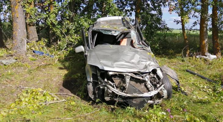 Машина превратилась в груду железа: на трассе в Мордовии произошло смертельное ДТП