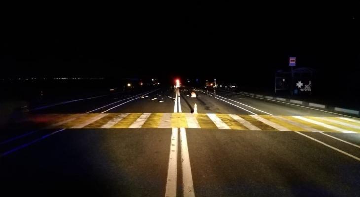 На трассе в Мордовии водитель «Рено» насмерть сбил пешеходов