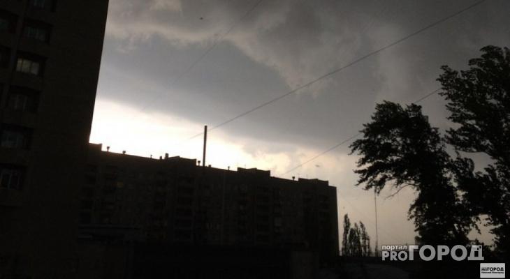 Внимание: в Мордовии объявлено штормовое предупреждение