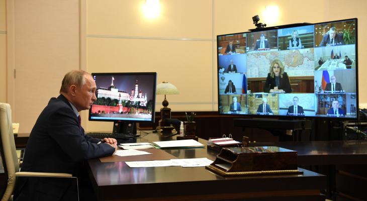 Владимир Путин сделал предупреждение губернаторам в связи с пандемией