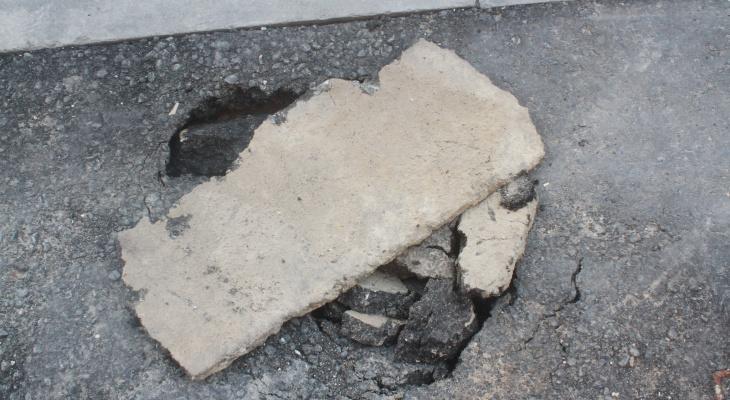 Прокуратура Мордовии заставила чиновников районной администрации отремонтировать дорогу