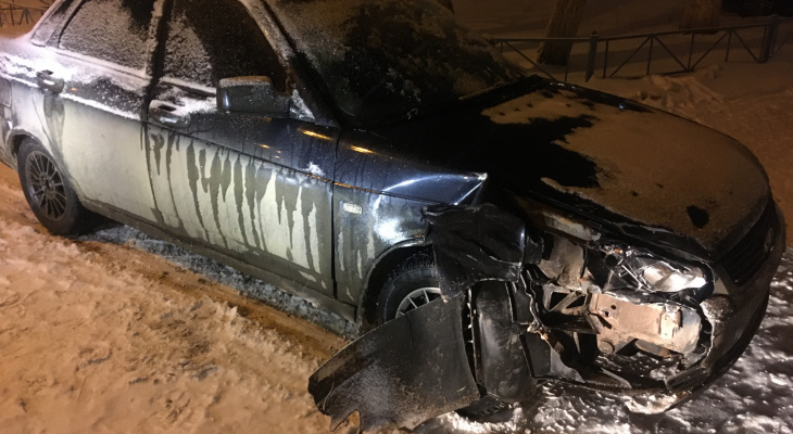 В Саранске инспекторы ГИБДД устроили погоню за молодым водителем «Приоры»