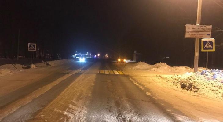 На трассе Саранск – Ульяновск несовершеннолетнего пешехода сбили сразу два авто