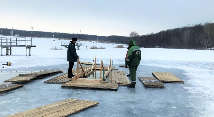 В Мордовии начали готовить места для проведения крещенских купаний
