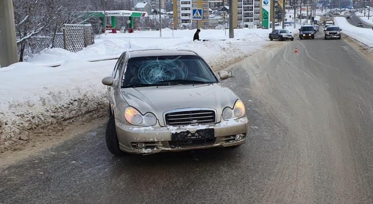 В Саранске невнимательный водитель иномарки «отправил» в больницу пешехода
