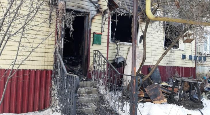 В Мордовии в ночном пожаре погиб ребенок