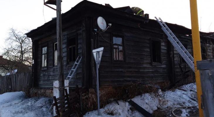 В Мордовии в горящем доме нашли тело мужчины