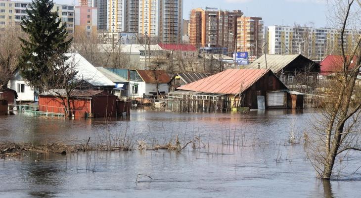 В Рузаевке ввели режим повышенной готовности в связи с паводком