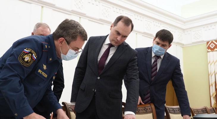 В Мордовии провели совещание по паводковой ситуации