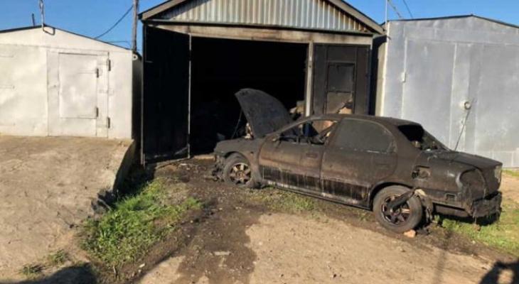 14-летний подросток пострадал на пожаре в Октябрьском районе Саранска